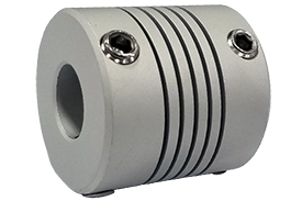 AR075-6-5 Helical A Series Flexible Aluminum Couplings