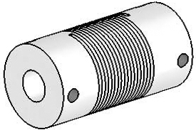 UJ7100-30-12-12 Helical Flexured Stainless Steel U-Joint