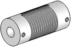UJ7100-45-8-8 Helical Flexured Stainless Steel U-Joint