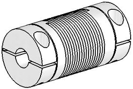 UJ7C075-30-6-6 Helical Flexured Stainless Steel U-Joint