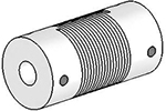 UJ7075-30-6-6 Helical Flexured Stainless Steel U-Joint