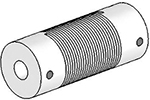 UJ7075-45-6-6 Helical Flexured Stainless Steel U-Joint