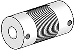 UJ7100-30-8-8 Helical Flexured Stainless Steel U-Joint