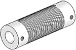 UJ7125-90-12-12 Helical Flexured Stainless Steel U-Joint