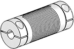 UJ7C075-45-6-6 Helical Flexured Stainless Steel U-Joint
