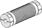 UJ7C075-90-6-6 Helical Flexured Stainless Steel U-Joint