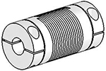 UJ7C100-30-8-8 Helical Flexible Shaft Stainless Steel Coupling U-Joint