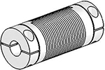 Helical Flexible Shaft Stainless Steel Coupling U-Joints