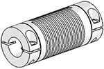 Helical Flexured Stainless Steel U-Joints
