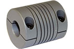 Helical W Series Flexible Aluminum Alloy Integral Clamp Couplings